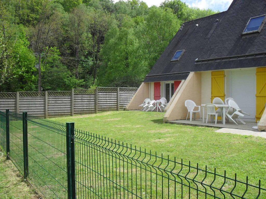 Gîtes et jardin clôturé - Camping de Pont Augan - Languidic - Morbihan