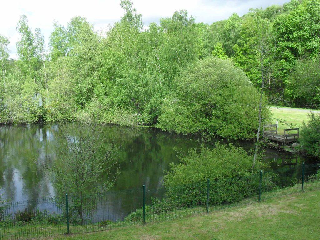 Vue sur lac - Camping de Pont Augan - Languidic - Morbihan