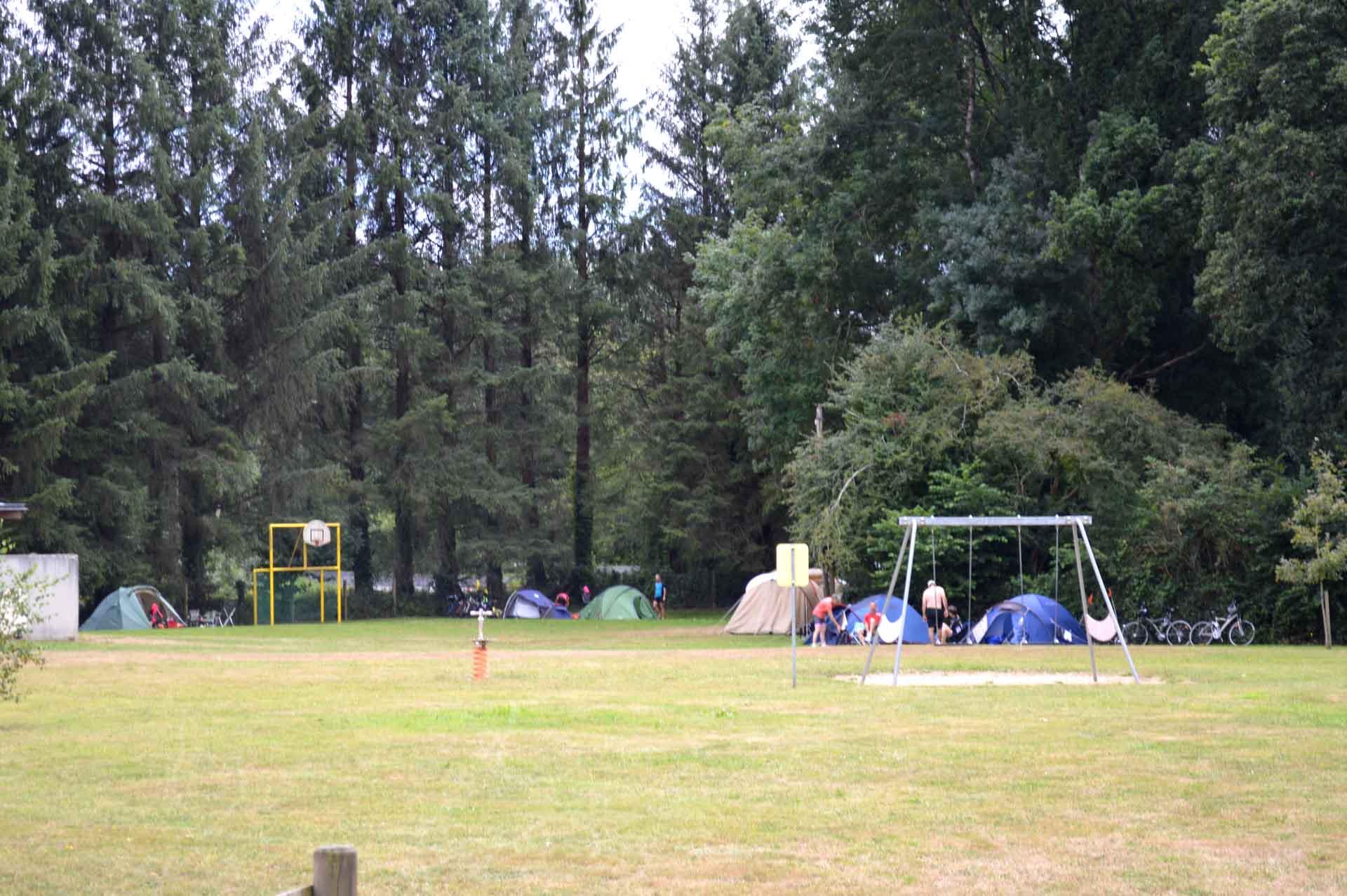 Aire de jeux pour les enfants - Camping de Pont Augan - Languidic - Morbihan