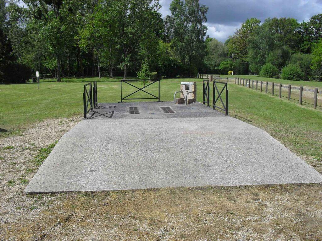 Zone de vidange pour camping car - Camping de Pont Augan - Languidic - Morbihan