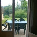 Terrasse gîte - Camping de Pont Augan - Languidic - Morbihan