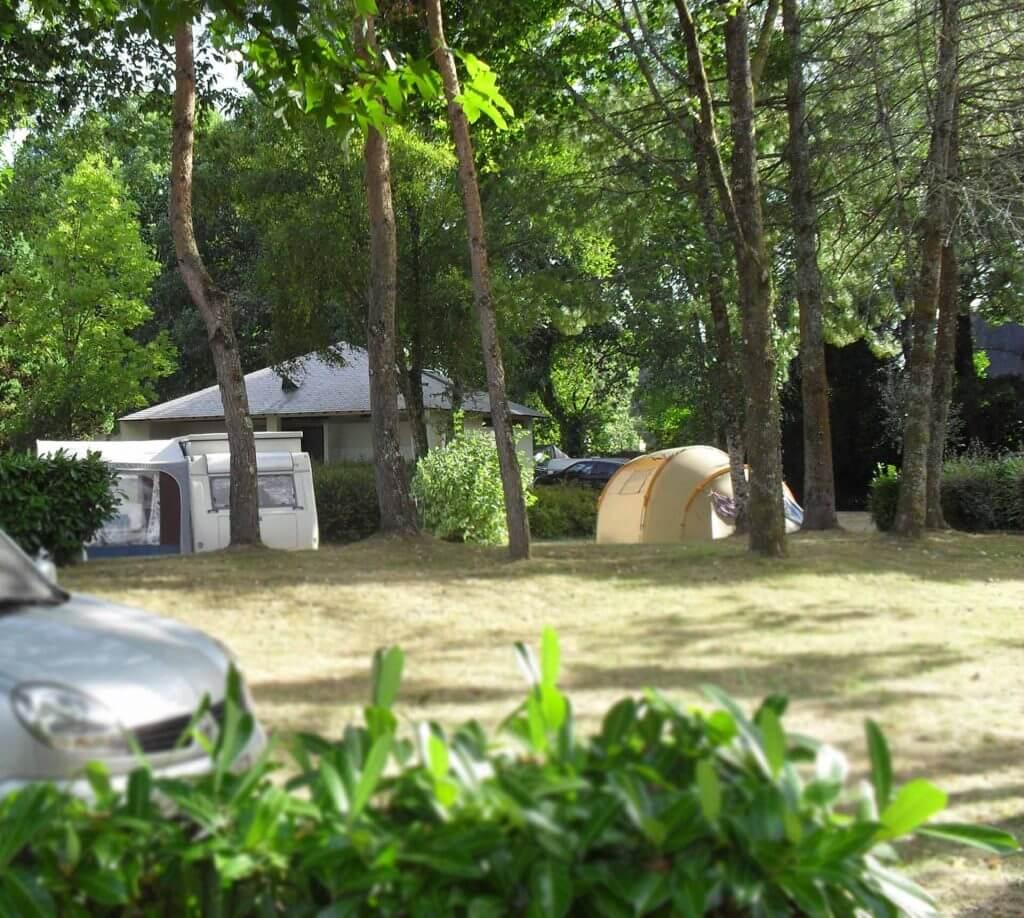 Emplacement camping - Camping de Pont Augan - Languidic - Morbihan